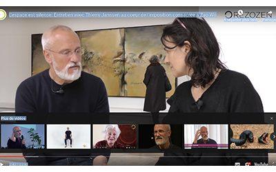 Entretien avec Thierry Janssen au coeur de l'exposition consacrée à Zao Wou-Ki