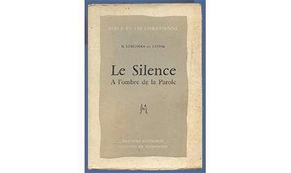 Le silence : à l'ombre de la parole