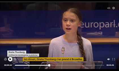 Climat : «L'UE rend les armes», Greta Thunberg furieuse