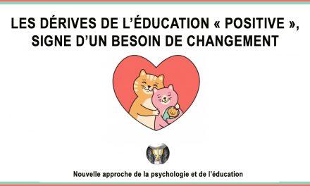 Les dérives de l'éducation « positive », signe d'un besoin de changement